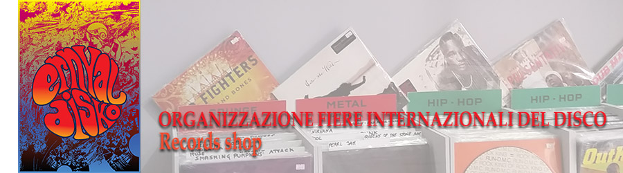 Organizzazione fiere disco Vendita dischi vinile