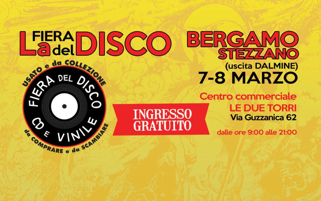 Fiera del disco Bergamo 7 e 8 marzo 2020