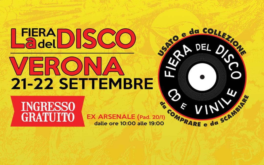 Fiera del Disco di Verona – 21-22 settembre 2019