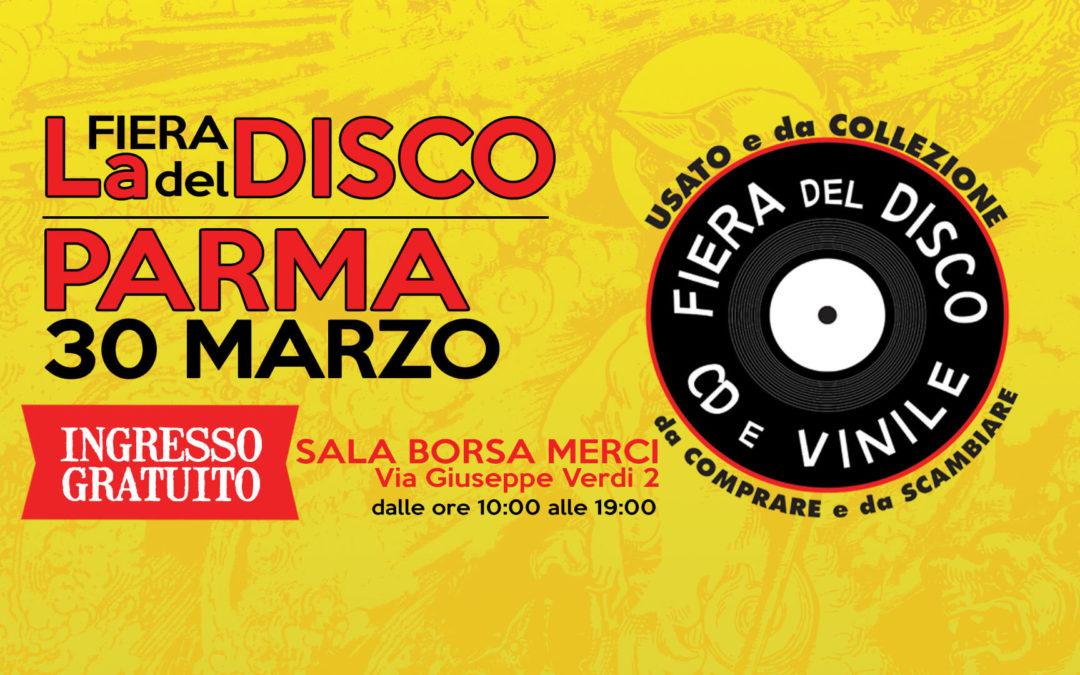 Fiera del Disco di Parma – 30 marzo 2019