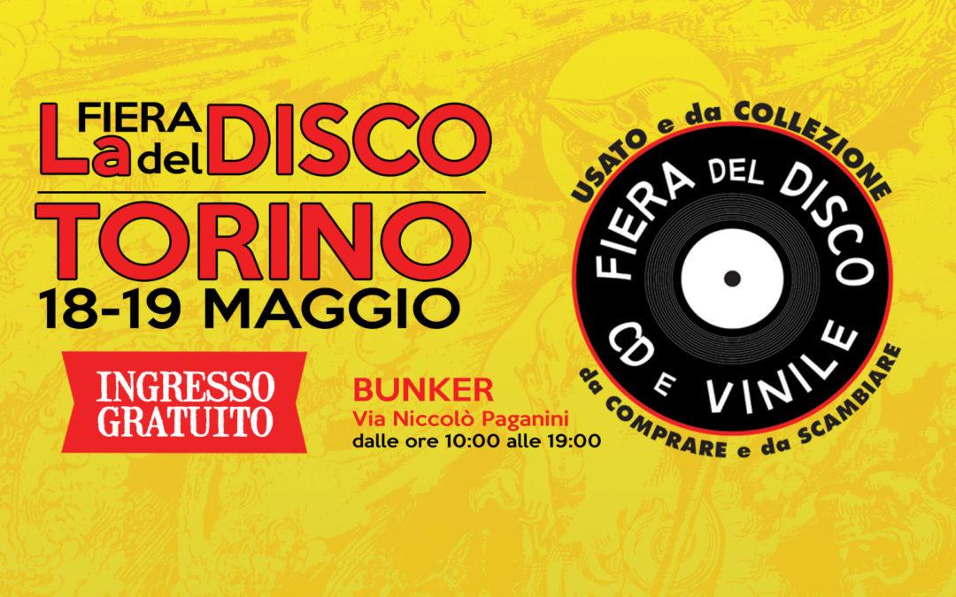 Fiera del Disco di Torino – 18-19 maggio 2019