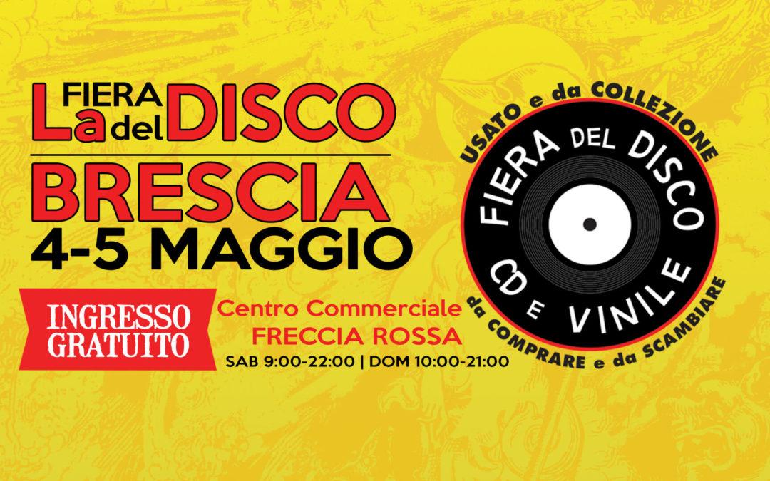 Fiera del Disco di Brescia – 4-5 maggio 2019