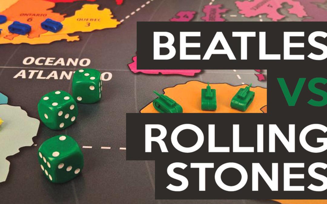 Ambo con Beatles e Rolling Stones