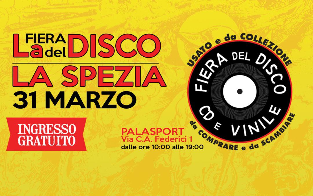 Fiera del Disco di La Spezia – 31 marzo 2019