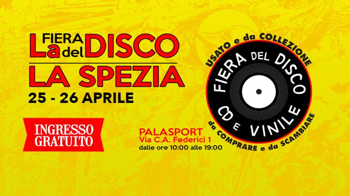 Fiera del Disco di La Spezia 25-26 aprile 2020