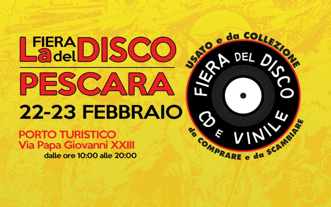 Fiera del disco di Pescara 22 – 23 febbraio 2020