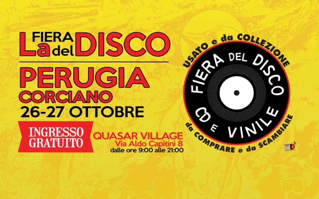 Fiera del disco di Perugia 26-27 ottobre 2019
