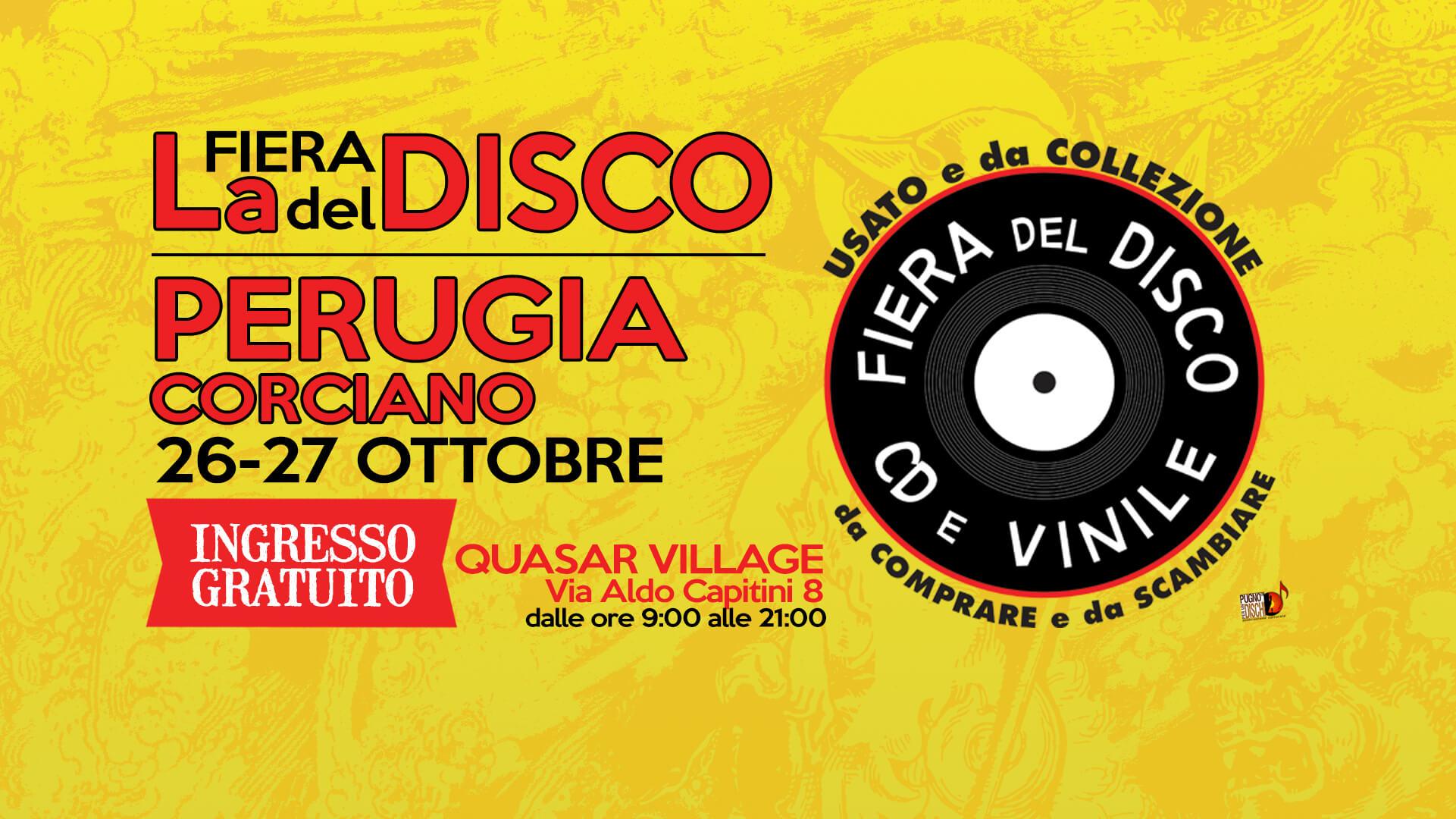 Calendario Ac Perugia.Fiera Del Disco Di Perugia 26 27 Ottobre 2019