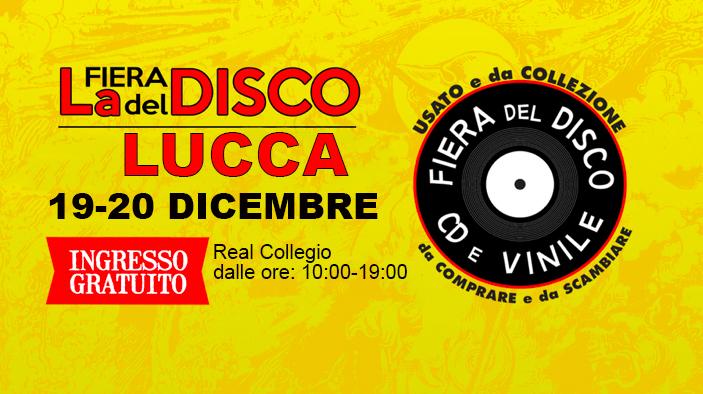 Fiera del Disco di Lucca dicembre 2020