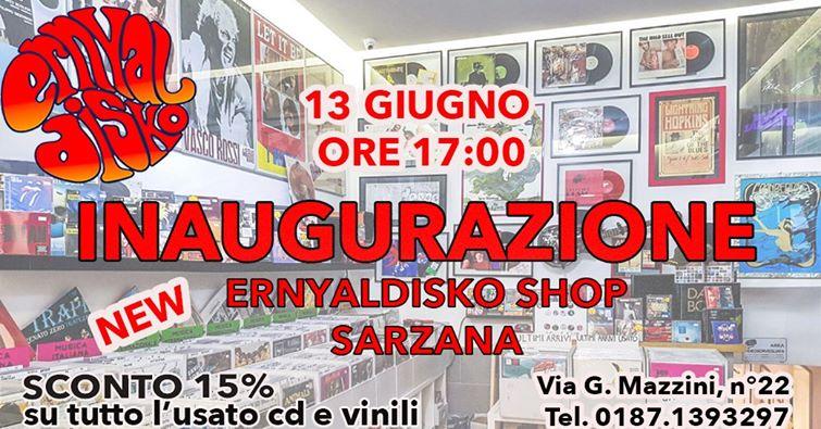 Inaugurazione Record Shop di Sarzana