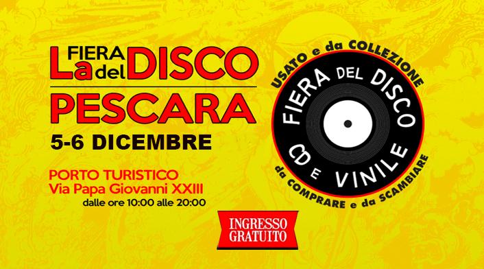 Fiera del disco di Pescara 5 -6 dicembre2020